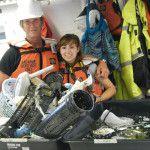Der Mann, der das Meer vom Müll befreit Kunststoff Meer Müll Ozean